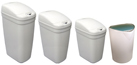 Trash Cans, Garbage Cans, Trash Containers, Waste Receptacles