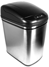 5 Gallon Hands-Free, Touchless, Automatic Trash Can - Stainless Steel - Bathroom - Kitchen