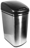 7 Gallon Hands-Free, Touchless, Automatic Opening Trash Can - Stainless Steel - Kitchen - Bathroom