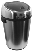 22 Gallon Hands-Free, Touchless, Automatic Lid Opening Trash Can - Stainless Steel - Commercial Use