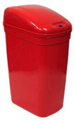 "7 Gallon Touchless Medical Infrared Trash Can - Red in Color - 14"" W x 10 1/2"" L x 23 1/4"" H"