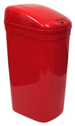 "9 Gallon Touchless Medical Infrared Trash Can - Red in Color - 14 1/2"" W x 10 3/4"" L x 25 3/4"" H"